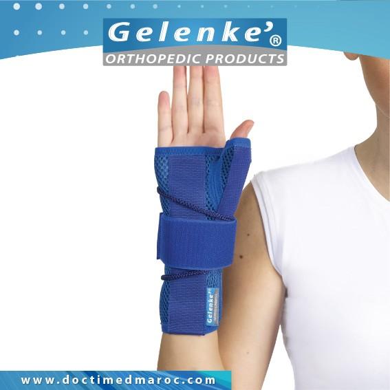 Support de poignet avec pouce (Tissu airtex) Unisize D-4040