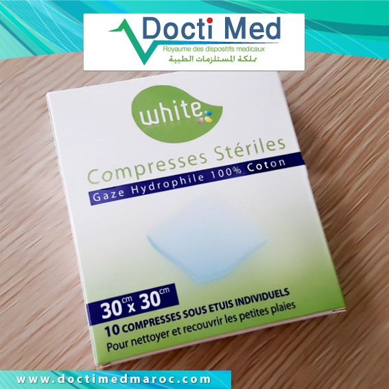 Compresses White Individuelle 20 - 30 - 40