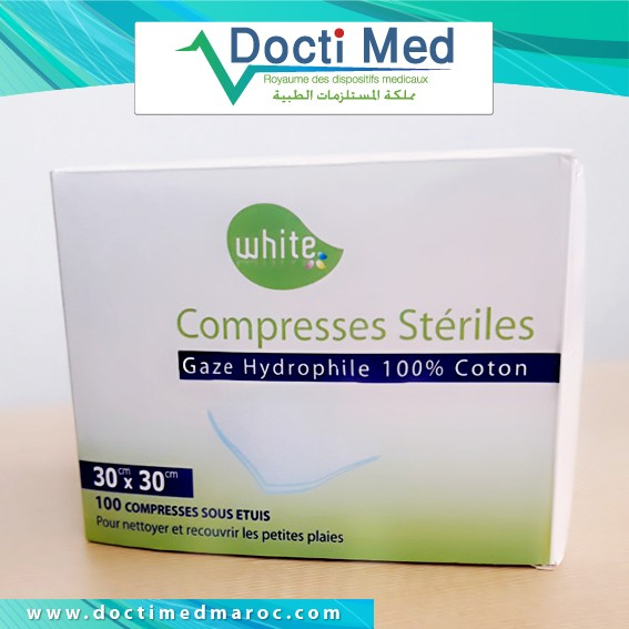 White Compresses Operation clinique